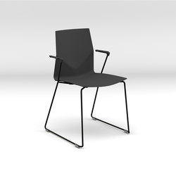 Four®Cast2 Line armchair | Visitors chairs / Side chairs | Four Design
