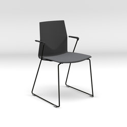 Four®Cast2 Line upholstery | Visitors chairs / Side chairs | Four Design