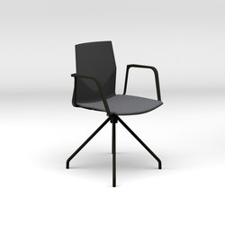 Four®Cast2 One upholstery | Visitors chairs / Side chairs | Four Design
