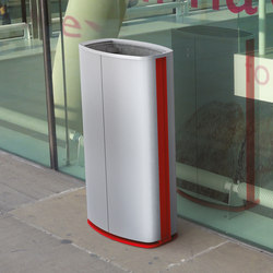 minium | Litter bin with aluminum sheating | Waste baskets | mmcité