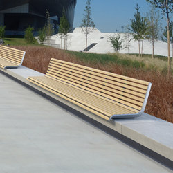portiqoa port | Wall-mounted bench | Exterior benches | mmcité