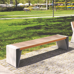 Toronto Metal Outdoor Bench Benches From Area Architonic
