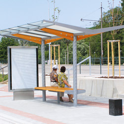 regio |  Two-sided bus stop shelter | Fermate degli autobus | mmcité