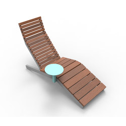rivage | Lounger with table | Sdraio da giardino | mmcité