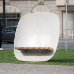 satellite | Park bench | Panche da esterno | mmcité