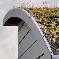 Green | Roofing systems | Swisspearl