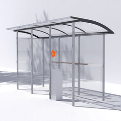 skandum | Shelter for smokers | Bus stop shelters | mmcité