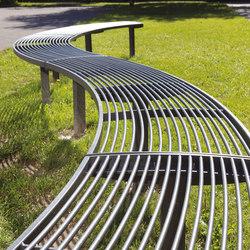 vera | Curved park bench | Exterior benches | mmcité
