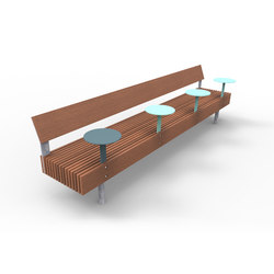 woody smart | Smart bench | Exterior benches | mmcité