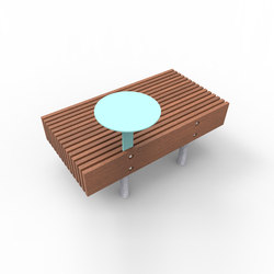 woody smart | Banc inteligente | Exterior benches | mmcité