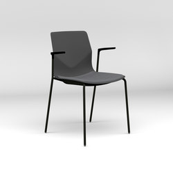 Four®Sure 44 upholstery | Visitors chairs / Side chairs | Four Design