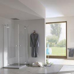 Azure Pivot door | Shower screens | Inda