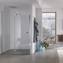 Azure Pivot door for niche | Shower screens | Inda