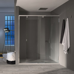 Klar Sliding door for niche | Shower screens | Inda