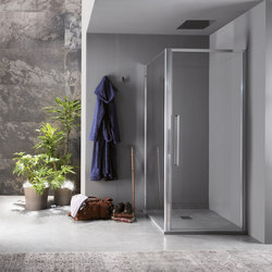 Trendy Design pivot door | Shower screens | Inda