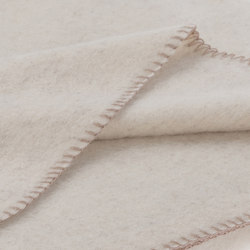 Alina Blanket winterwhite | Coperte | Steiner1888