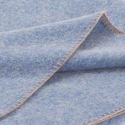 Alina Blanket azur | Plaids / Blankets | Steiner