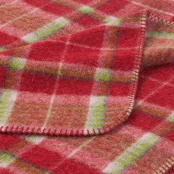 Andrea Blanket strawberry | Plaids / Blankets | Steiner