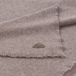 Fabia Blanket taupe | Plaids / Blankets | Steiner