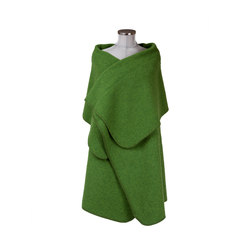 Petra Poncho forest | Plaids / Blankets | Steiner