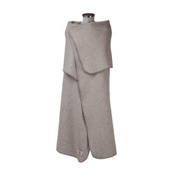 Petra Poncho creme | Plaids / Blankets | Steiner