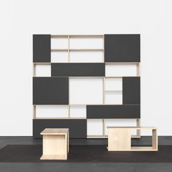 ANALOG modular shelf- und sideboardsystem | Library shelving systems | Sanktjohanser