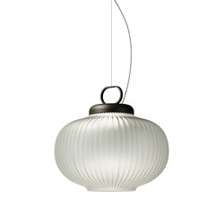 Kanji Suspension lamp | General lighting | FontanaArte