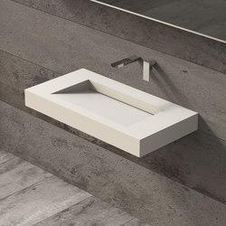 Solidsquare | 90 | Wash basins | Ideavit