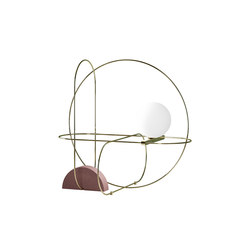 Setareh Table lamp | General lighting | FontanaArte