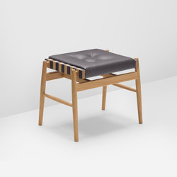 Norse stool | Polsterhocker | H Furniture