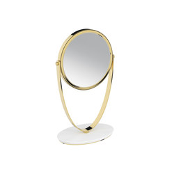 Belle Free Standing Magnifying Mirror | Bath mirrors | Pomd'Or