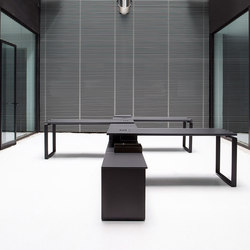 Bat Office | Systèmes de tables de bureau | AKABA