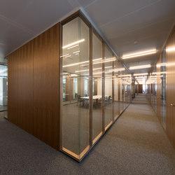 Materiale vetro | Sistemi di pareti divisorie