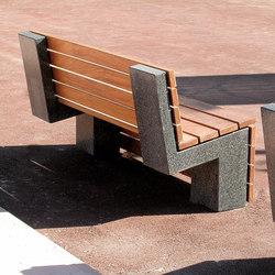 Nigra | Bench | Exterior benches | Escofet 1886