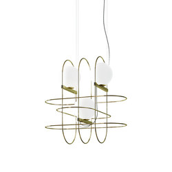 Setareh Suspension lamp | Suspended lights | FontanaArte
