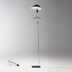 Glatzkopf Floor | Lámparas de pie | Ingo Maurer