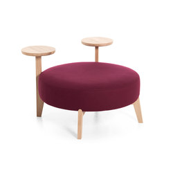 Isola 90/TR | Pouf | Very Wood