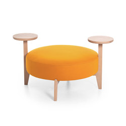 Isola 90/TO | Pouf | Very Wood