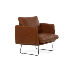 Spongy Armchair Leather | Lounge chairs | RS Barcelona