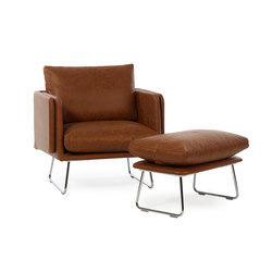 Spongy Armchair Leather | Poltrone lounge | RS Barcelona