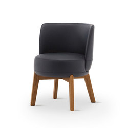 Rond 02/H | Visitors chairs / Side chairs | Very Wood