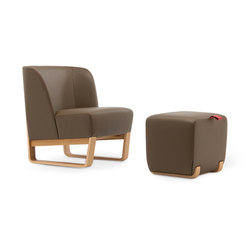 Skid 04/09 | Lounge chairs with footstools | Very Wood