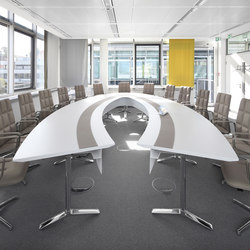 Talk conference table | Sistemas de mesas conferencias | RENZ