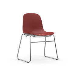 Form chair stacking | Visitors chairs / Side chairs | Normann Copenhagen
