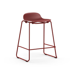 Form Barstool 65 stacking | Taburetes de bar | Normann Copenhagen