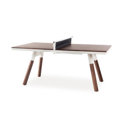 You and Me 180 Ping Pong Table Walnut | Dining tables | RS Barcelona