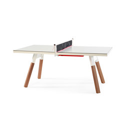 You and Me 180 Ping Pong Table White | Mesas comedor | RS Barcelona