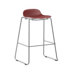 Form Barstool 75 stacking | Taburetes de bar | Normann Copenhagen