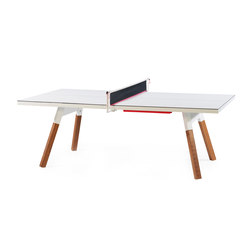 You and Me 220 Ping Pong Table White | Dining tables | RS Barcelona