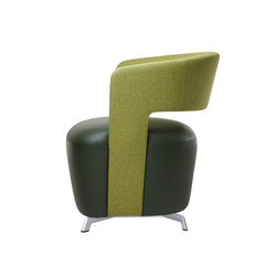 Allora lounge chair | Fauteuils d'attente | Dauphin